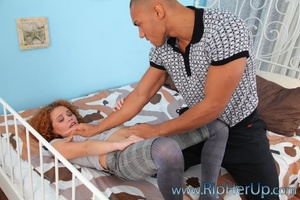 Hot cuttie get her lingerie torn when bi - XXX Dessert - Picture 2