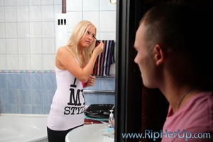 Blonde bitch is mouthful of spern after  - XXX Dessert - Picture 2