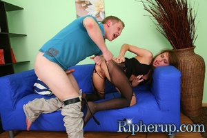 Guy gets horny when his girlfriend plays - XXX Dessert - Picture 5