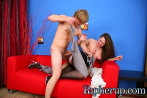 Dude gets angry when sexy chick mocking  - XXX Dessert - Picture 6
