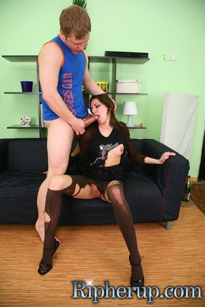 Hot chick becomes a victim of drunk guy  - XXX Dessert - Picture 16