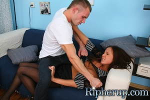 Dude punishes his girlfriend by ass fuck - XXX Dessert - Picture 5