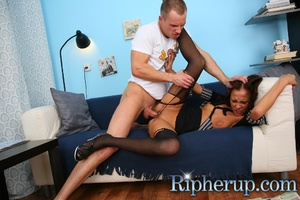 Dude punishes his girlfriend by ass fuck - XXX Dessert - Picture 11