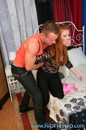 Dude cums onto girl's face after fucking - XXX Dessert - Picture 2