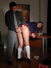 A sugary schoolgirl was compelled to go - Unique Bondage - Pic 5