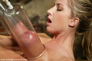 Sex machines. Sammie Rhodes has her tits - XXX Dessert - Picture 13