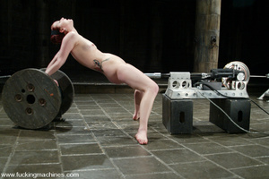 Fucking machines sex. Kinky and flexible - XXX Dessert - Picture 13