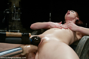 Fucking machines sex. Kinky and flexible - XXX Dessert - Picture 15
