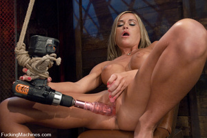 Women fucking machines. Blue eyed, Blond - XXX Dessert - Picture 7