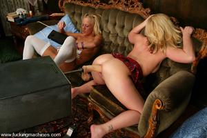 Sexmachines. Kylie and Summer Storm get  - XXX Dessert - Picture 8
