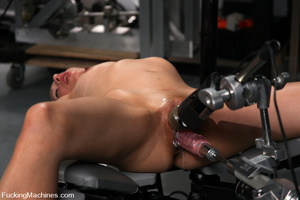 Sexmachine. Amateur machine fucked, drip - XXX Dessert - Picture 6