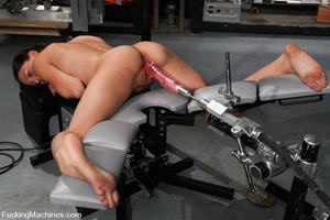 Sexmachine. Amateur machine fucked, drip - XXX Dessert - Picture 8
