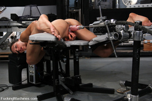 Sexmachine. Amateur machine fucked, drip - XXX Dessert - Picture 9