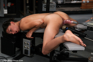 Sexmachine. Amateur machine fucked, drip - XXX Dessert - Picture 11