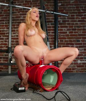 Fucking machines. Samantha Sterlyng is b - XXX Dessert - Picture 10