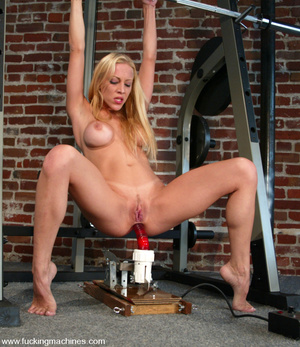 Fucking machines. Samantha Sterlyng is b - XXX Dessert - Picture 12