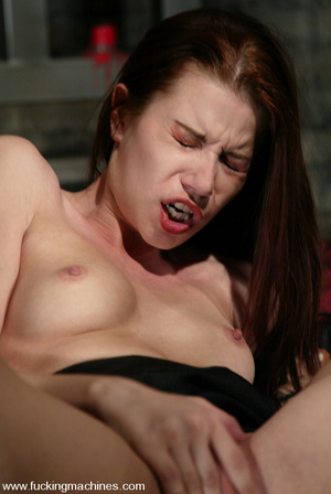 Girls sex machines. Sarah Blake is bound - Picture 4