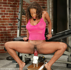 Girls sex machines. Sinnamon gets a good - XXX Dessert - Picture 11