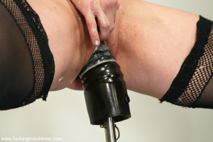 Machines fucking. Even the Sybian is not - XXX Dessert - Picture 9