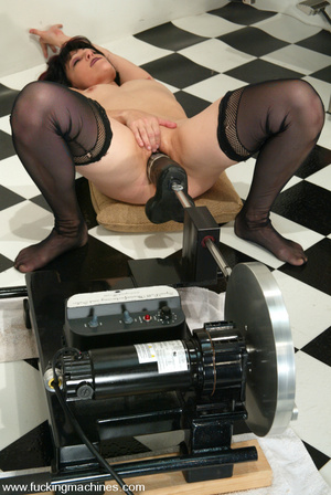 Machines fucking. Even the Sybian is not - XXX Dessert - Picture 12