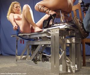 Fucking machine. See Goldie and Tina Toy - XXX Dessert - Picture 7