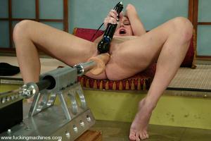 Sex machine orgasms. Hot newcomer gets a - XXX Dessert - Picture 15