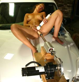 Fucking machines porn. Meriesa gets fuck - XXX Dessert - Picture 4
