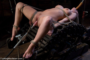 Women fucking machines. Harmony Rose, bo - XXX Dessert - Picture 2