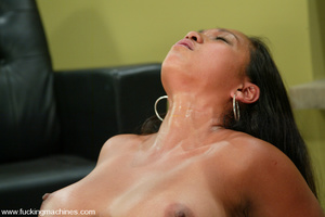 Sex machine porn. Sexy Asain girl fucks  - XXX Dessert - Picture 8