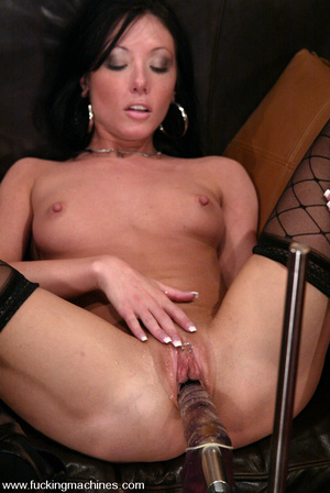 Fucking machines sex. Naughty Nadia gets - XXX Dessert - Picture 8