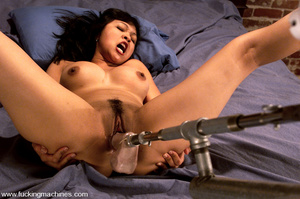 Girls on sex machines. Mika is a beautif - XXX Dessert - Picture 11