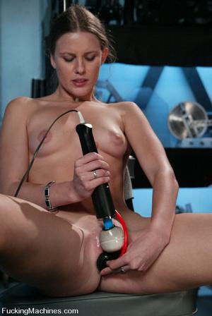 Fucking machines porn. Amateur blond cum - XXX Dessert - Picture 1