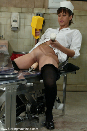 Free sex machines. Naughty nurse examine - XXX Dessert - Picture 2