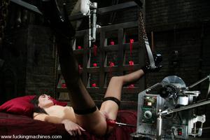 Mechanical sex machine. This newbie gets - XXX Dessert - Picture 5