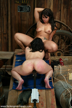Fucking machines porn. Two hot Asians fu - XXX Dessert - Picture 14