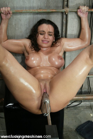 Girls sex machines. Jenya enjoys and oil - XXX Dessert - Picture 15