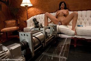 Machine fuck. Lesbian Haile James new gi - XXX Dessert - Picture 10