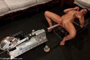 Machine fuck. Lesbian Haile James new gi - XXX Dessert - Picture 12