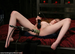 Fuck machines. Lovely red-head gets tied - XXX Dessert - Picture 10