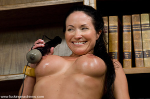 Sexmachines. MILF gets machine nailed in - XXX Dessert - Picture 12
