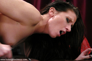 Sex machine porn. ArielX gets machine na - XXX Dessert - Picture 10