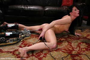 Sex machine porn. ArielX gets machine na - XXX Dessert - Picture 13
