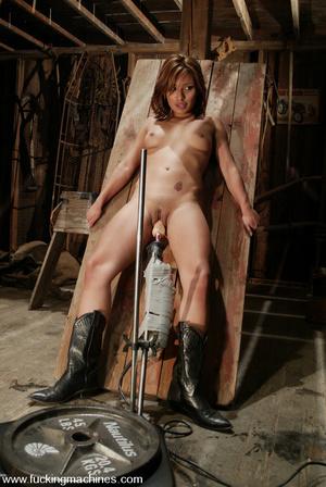 Girls sex machines. Jasmine Byrne gets a - XXX Dessert - Picture 6