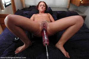 Fucking machine porn. Sara Faye squirts  - XXX Dessert - Picture 8