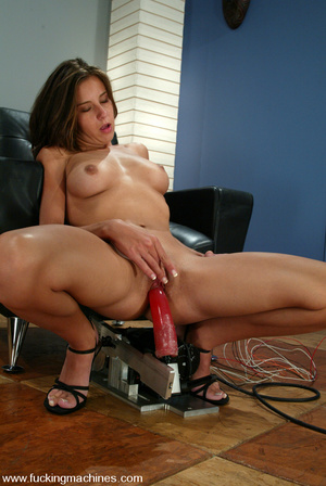 Fuckingmachines. This hottie takes her t - XXX Dessert - Picture 11