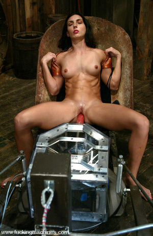 Sex machine porn. Fuckingmachine Tit suc - XXX Dessert - Picture 9