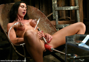 Sex machine porn. Fuckingmachine Tit suc - XXX Dessert - Picture 11