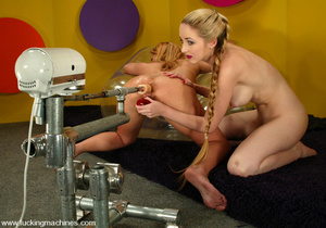 Fucking machine sex. Jenni Lee and Chant - XXX Dessert - Picture 12