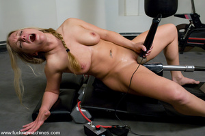 Sexmachines. All natural big tit blonde  - XXX Dessert - Picture 14