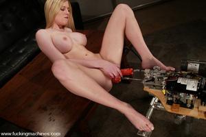 Machine fucking. Amateur model squirts,  - XXX Dessert - Picture 13